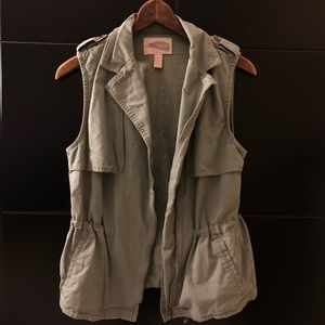 Green Vest jacket